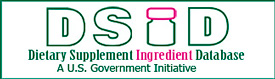 Dietary Supplement Ingredient Database - A U.S. Government Initiative