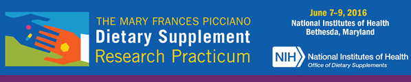 Office of Dietary Supplements: Special Supplement Newsletter