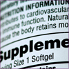Supplement information label