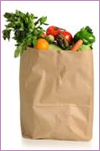 Photo: Groceries in a bag