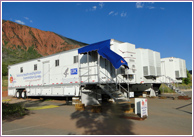 Photo: NHANES trailers in Colorado