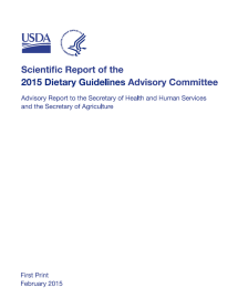 Scientific Report of the 2015 Dietary Guidelines Advisory Committee