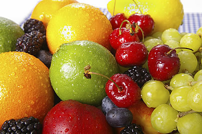 assorted whole fruit