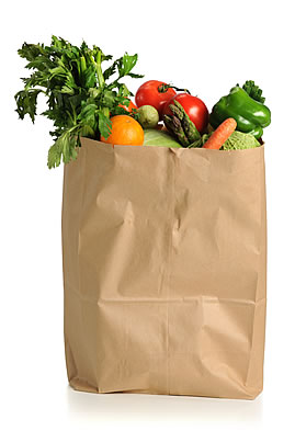 bag of groceries