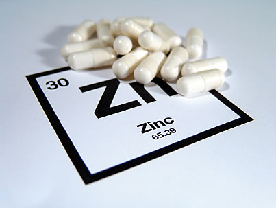 Recommended zinc intake