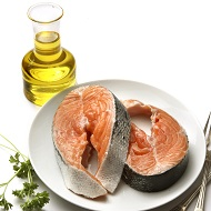 salmon and plant oils
