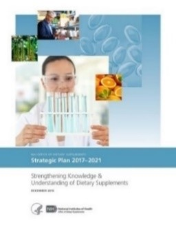 """ Strengthening Knowledge and Understanding of Dietary Supplements"" strategic plan cover"